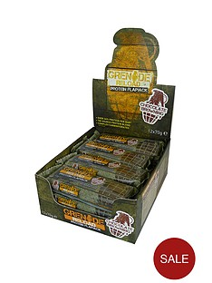 grenade-reload-chocolate-brownie-protein-flapjack-12-x-70g-bars-with-free-gift