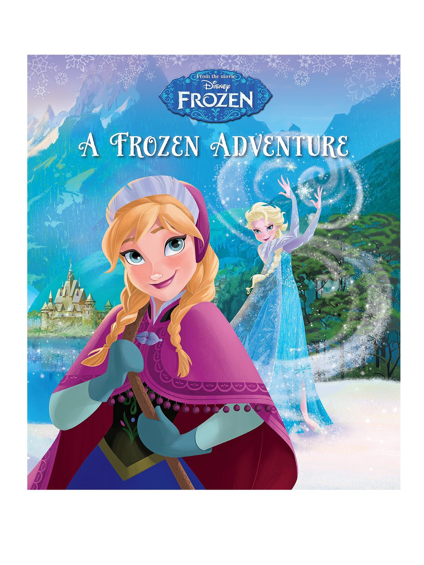 Disney Frozen A Frozen Adventure - Paperback