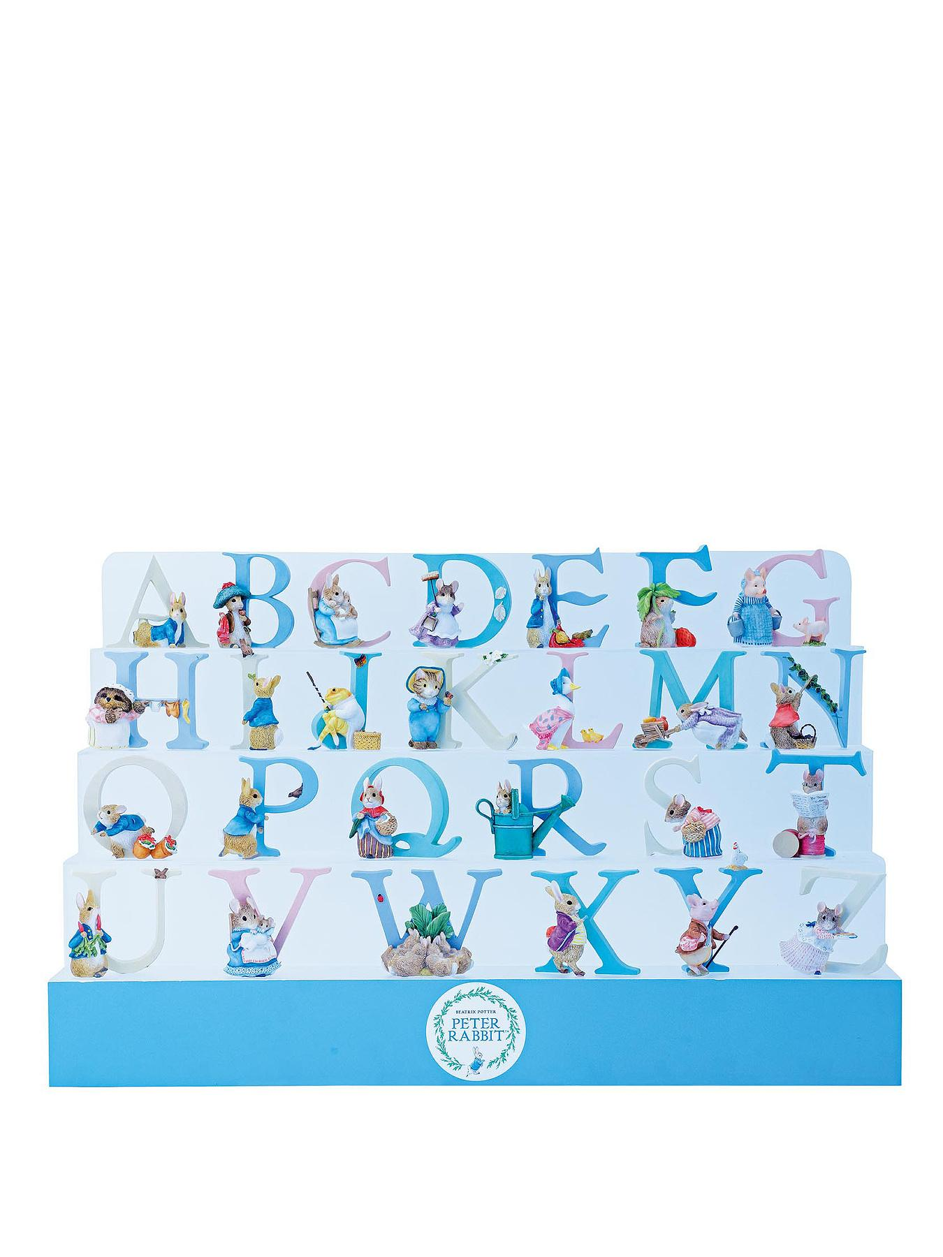Peter Rabbit Alphabet Resin Letters - A-Z Options