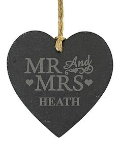 personalised-mr-mrs-slate-heart