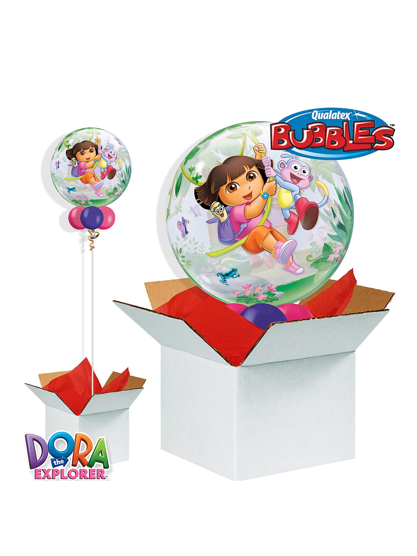Dora the Explorer and Boots 22 inch Bubble Balloon