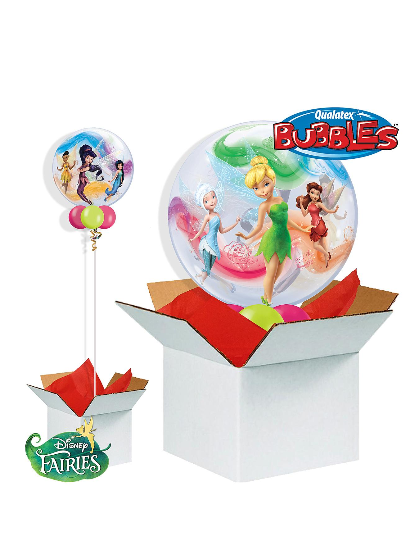 Disney Fairies 22 inch Bubble Balloon