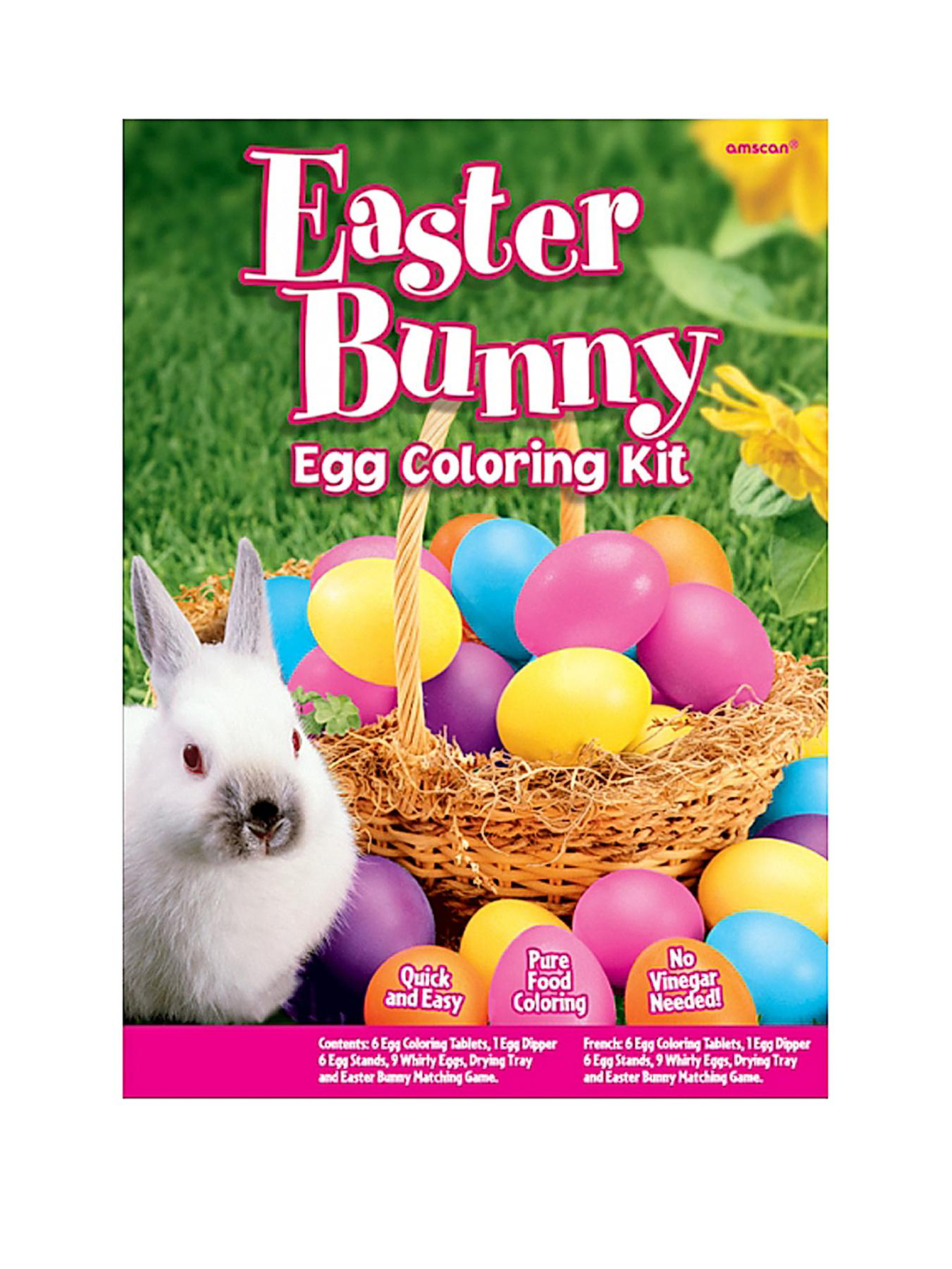 Easter Bunny 24 Piece Egg Dying Kit