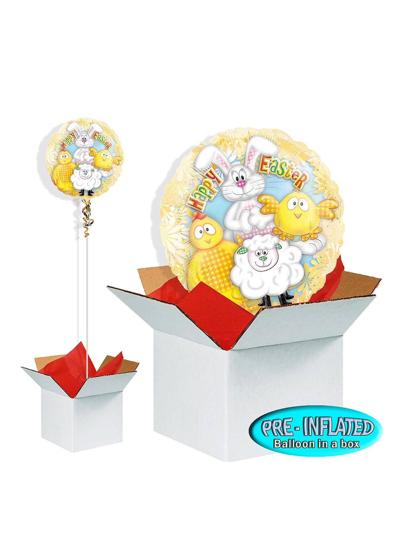 Happy Easter 18 inch Foil Balloon