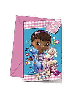 doc-mcstuffins-birthday-party-invitations-18-pack
