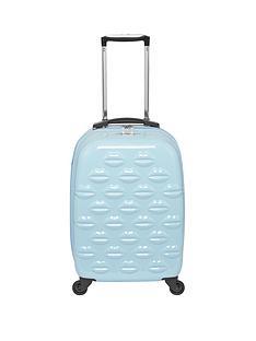 lulu-guinness-hard-sided-4-wheel-powder-blue-55cm-cabin-case