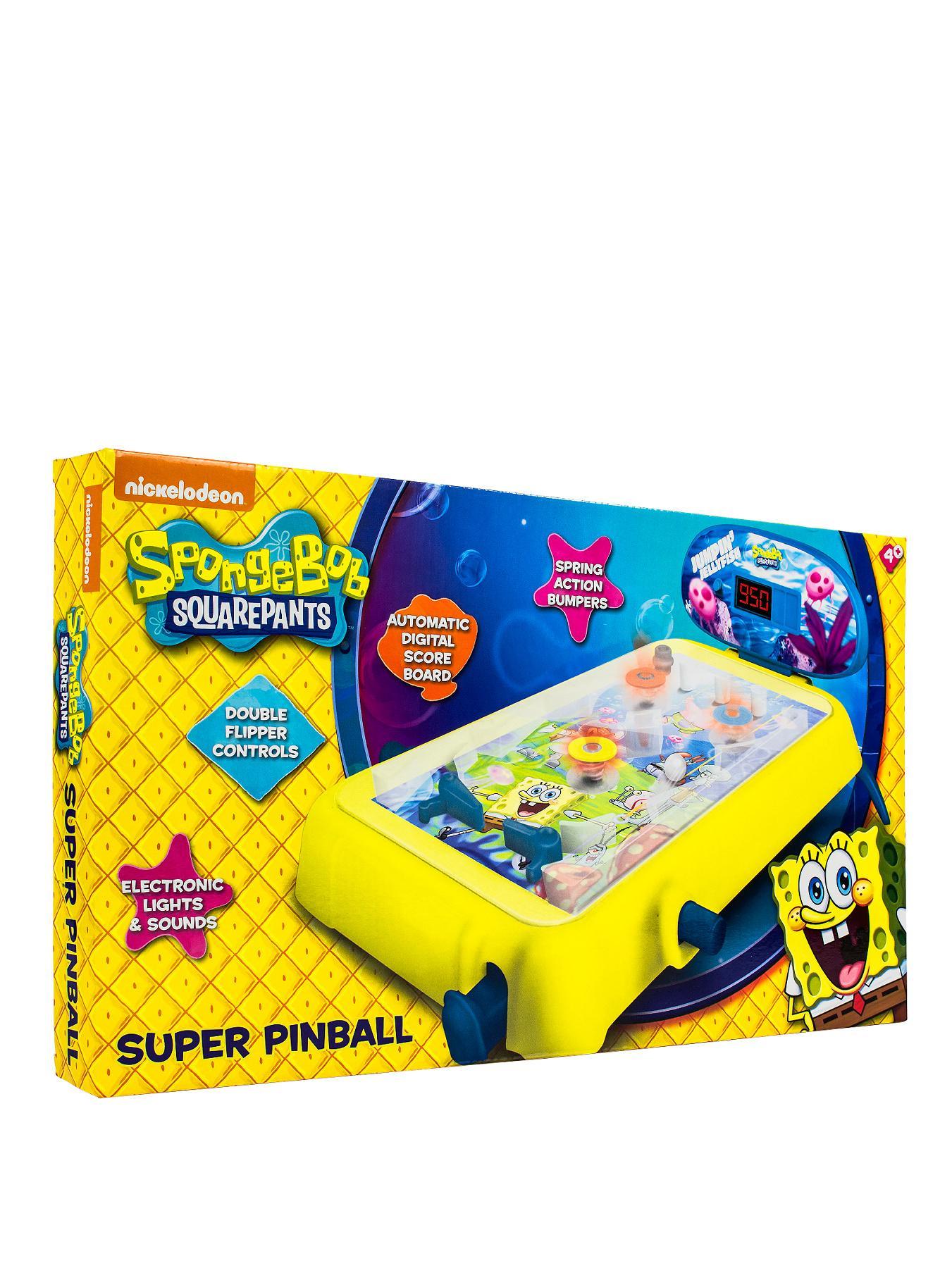 Spongebob Squarepants Medium Super Pinball