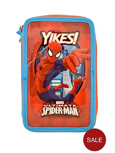 spiderman-filled-pencil-case