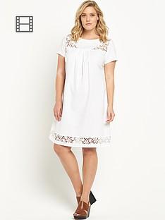so-fabulous-lace-insert-linen-dress