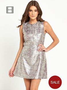 french-connection-sunlight-shimmer-dress