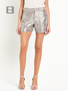 french-connection-sunlight-shimmer-shorts