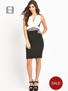 lipsy-mono-net-insert-bodycon-dress