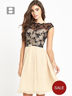 little-mistress-lace-skater-bardot-dress