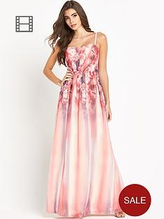 little-mistress-floral-top-bandeau-maxi-dress