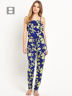 south-frill-floral-print-jumpsuit