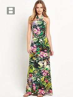 resort-tropical-halter-neck-dress