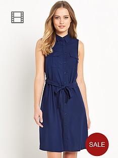 south-sleeveless-shirt-dress