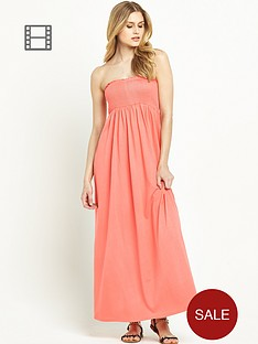 south-petite-smocked-maxi-dress