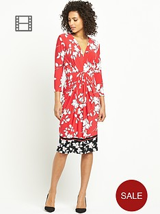 south-floral-print-workwear-dress
