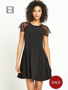 south-lace-detail-swing-dress