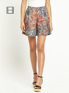 south-paisley-print-shorts