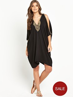 resort-embellished-batwing-dress