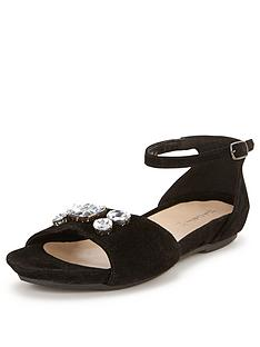 foot-cushion-jewelled-footbed-sandals-suede-black