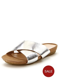 foot-cushion-crossover-footbed-sandals-silver
