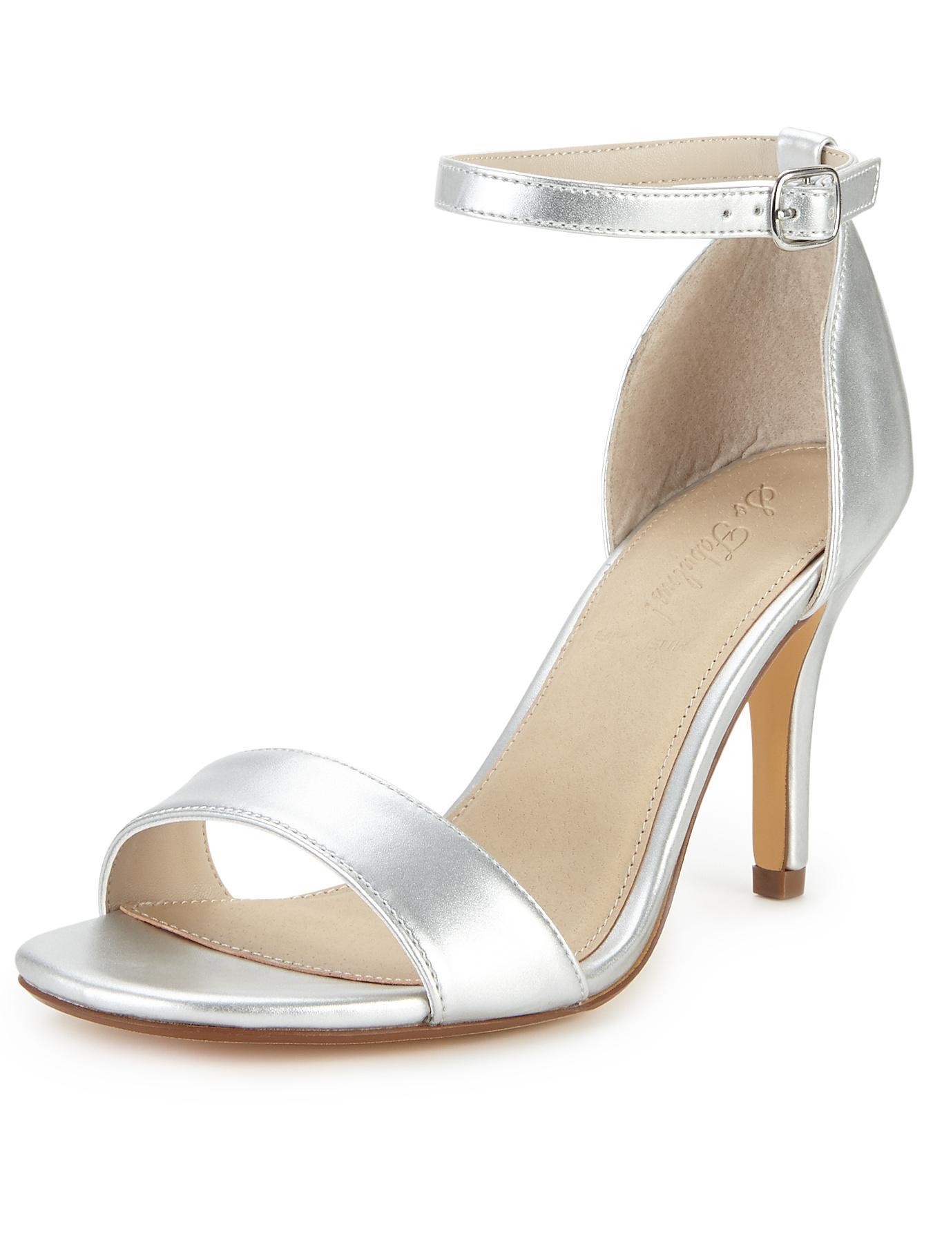 Silver Sandal Heel