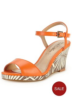 foot-cushion-verity-print-comfort-wedge-sandals-orange