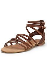 Devie Mar Leather Gladiator Sandals