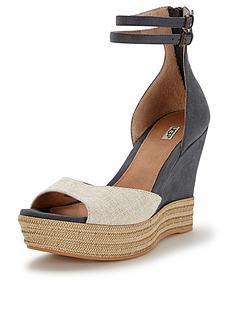 ugg-australia-devan-leather-wedge-sandals