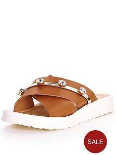 miss-kg-riri-chunky-embellished-slide-sandals