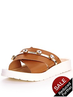 miss-kg-riri-chunky-embellished-slide-sandals