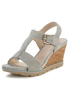 lotus-mirror-suede-wedge-sandals