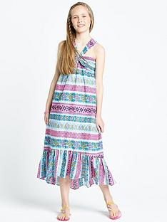 freespirit-girls-tribal-maxi-dress