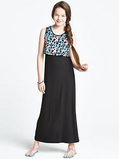 freespirit-girls-leopard-frill-maxi-dress
