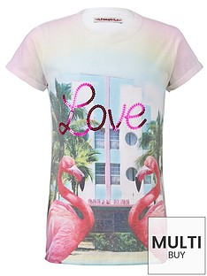 freespirit-girls-love-flamingo-sublimation-t-shirt