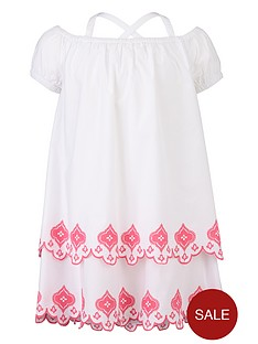 freespirit-girls-off-the-shoulder-embroidered-dress