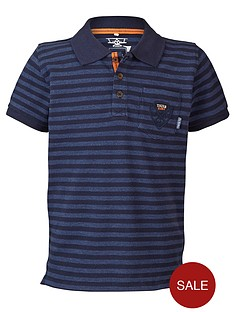 name-it-lmtd-boys-short-sleeve-stripe-jersey-polo-shirt