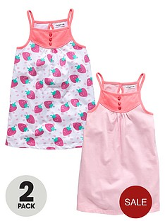 ladybird-girls-strawberry-strappy-dresses-2-pack-12-months-to-7-years