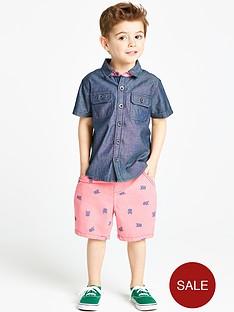 ladybird-boys-denim-shirt-and-chino-shorts-set