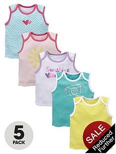 ladybird-baby-girls-sunshine-smiles-vest-5-pack