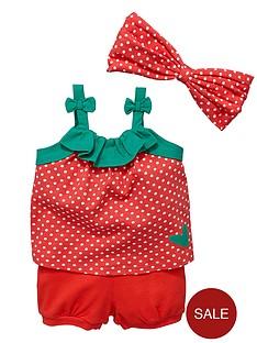 ladybird-baby-girls-3-piece-spotty-strawberry-set