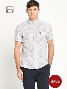 lyle-scott-short-sleeve-etch-print-t-shirt