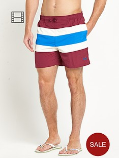 fred-perry-mens-stripe-swim-shorts