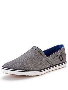 fred-perry-kingston-stampdown-slip-ons