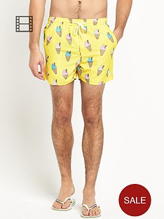 french-connection-mens-ice-cream-swim-shorts