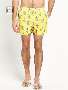 french-connection-mens-ice-cream-swim-shorts