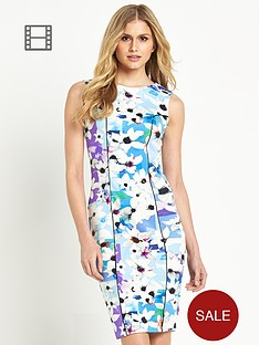 definitions-printed-scuba-pencil-dress